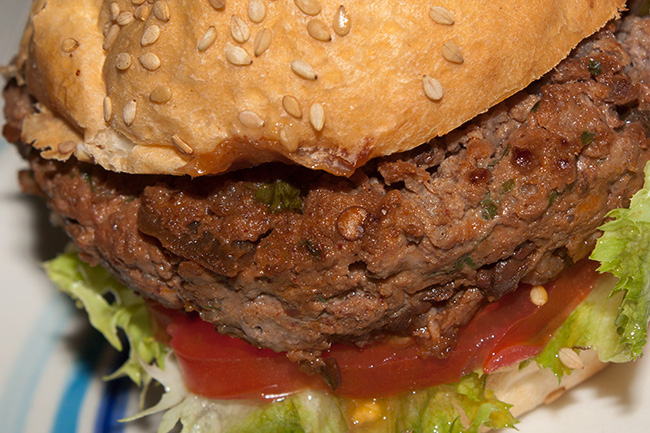 Hamburger al peperoncino chipotle in adobo
